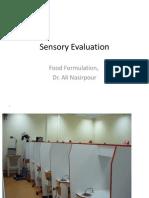 Sensory Evaluadtion