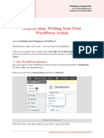 How to Write a WordPress Post