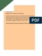 The Laundry Cost Calculator