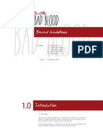 Brand Guidelines - Bastille Bad Blood