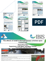 Official Posters from IBIS-AST Salmon Stocking Conference, 27-28 November 2013, Glasgow
