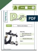 Prostho VI - lec 8 - Reline and rebase.pdf