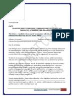 Qualified Written Request, Complaint, Dispute of Debt