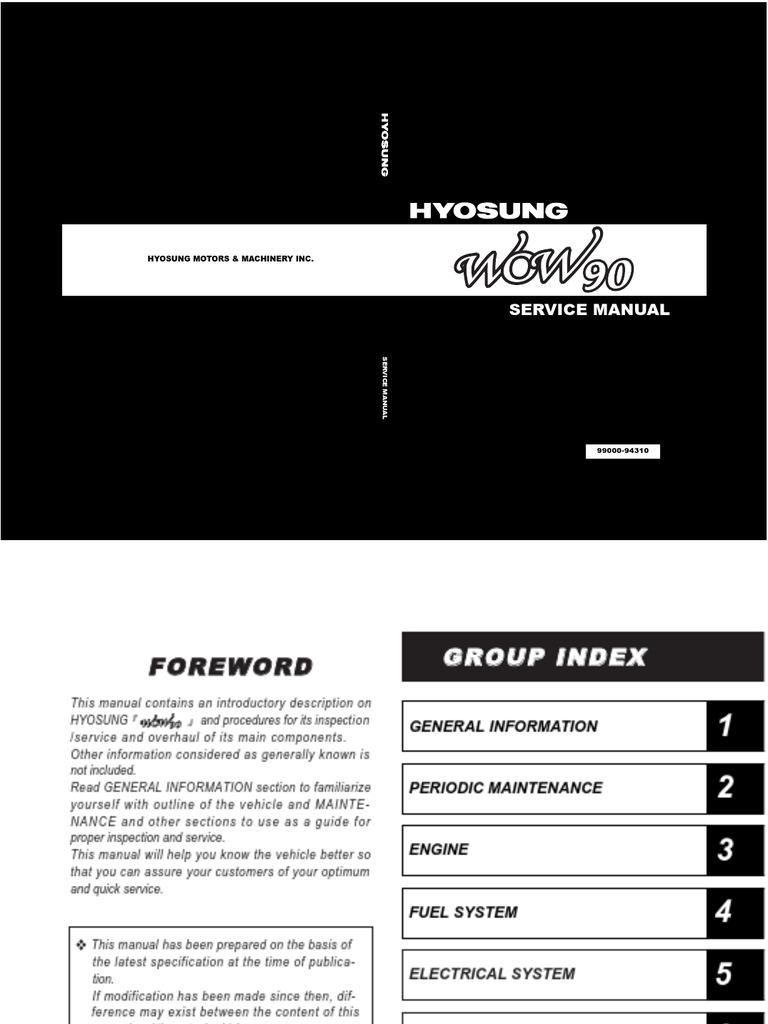 Hyosung Gv250 Wiring Diagram