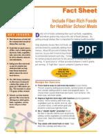 Factsheet Fiber