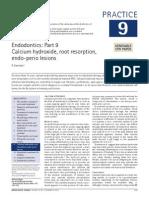 Calcium Hydroxide Article