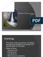 Lesson 1 Introduction to Hydrology