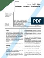 81176078 NBR 13960 Moveis Para Escritorio Terminologia