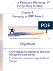 Chapter 8: Managing an ERP Project