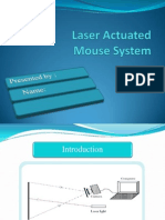 Laser Actuated Mouse System