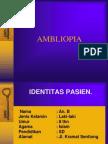 AMBLIOPIA Power Point