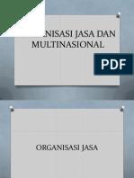 Organisasi Jasa Dan Multinasional