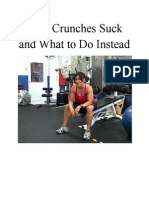 Why Crunches Suck and What to Do Instead