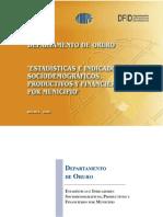IndicadoresSociodemograficosProductivosFinancierosOruro