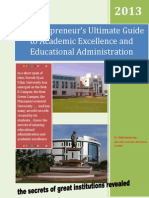 The Edupreneur's Ultimate Guide to Academic Excellence and Educational Administration