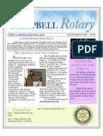 Newsletter Aug 18 2009