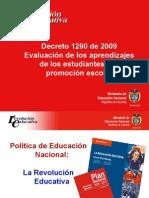 EVALUACION Decreto 1290 de 2009