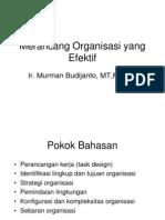 Merancang organisasi