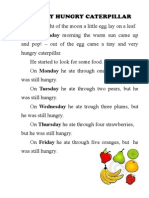 The Very Hungry Caterpillar Book Pdf