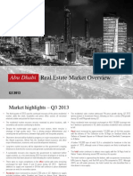 Abu Dhabi Real Estate Market Analysis Q3 2013