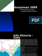 Vacaciones 2009 en Almeria