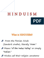 Hinduism (THEO1) Group 1