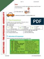grammar summary - cc - unit 2