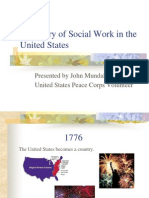 A History of Social Work in the United
