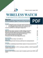 Wireless Watch 507, 1 Aug13