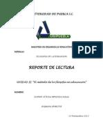Reporte de Lectura Unidad II