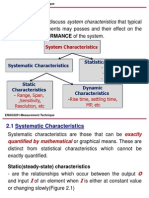 _2. Performance Characteristics of Measurement System