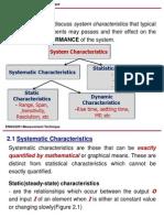 _2. Performance Characteristics of Measurement System