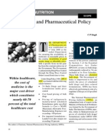 Drug and Pharmaceutical Policy