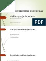Lenguaje Humano 2013 TEMA 1