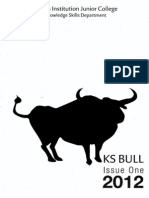 KS BULL 2012 ISSUE 1