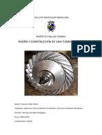 Diseño y Construcción de una Turbina de Gas