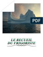 Froid Recueil Du Frigoriste