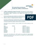 Boletin Oficina La Mesa-Publicado
