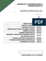 Normativi i Standardi Rada u Gradjevinarstvu -VI Deo