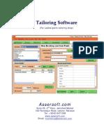 AsserSoftware Manual