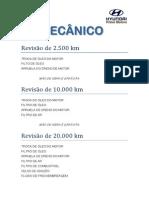 Manual Revisao i30 Mecanico