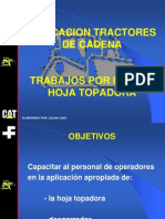 Curso de Aplicacion de Los Bulldozer de Empuje de Hoja Topadora