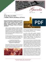 22 de Mayo de 1810 - Cabildo Abierto Destituye Al Virrey