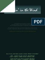 Blowin in the Wind BOB DILAN