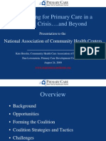 Advocating for Primary Care in a Budget Crisis….and Beyond