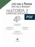 Guía Didáctica Historia y CC.SS. 4º Medio