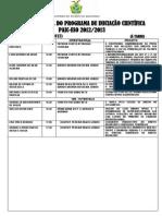 AVALIAÇÃO FINAL PAIC_2012-2013_Cronograma definitio