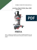 Manual Básico de Fresa ModOT2213 Mca OMT.doc