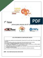 1ª fase - 2009 [2]