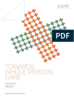 Towards Whole Person Care